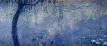 Waterlilies: Two Weeping Willows von Claude Monet