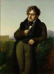 Portrait of Francois Rene Vicomte de Chateaubriand von Anne Louis Girodet de Roucy-Trioson