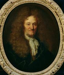 Portrait of Jean de La Fontaine by Nicolas de Largilliere