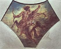 The Education of Achilles von Ferdinand Victor Eugene Delacroix