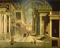 Emperor Augustus and the Sibyl von Paris Bordone