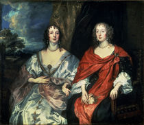 A. Dalkieth and Lady Kirk, 1640 von Anthony van Dyck