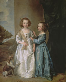 Philadelphia and Elisabeth Wharton by Anthony van Dyck