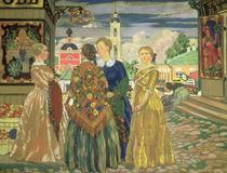 Merchant Women von Boris Mihajlovic Kustodiev