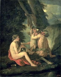 Satyr and Nymph, 1630 by Nicolas Poussin