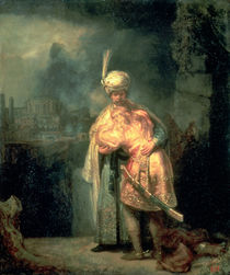 David and Jonathan, 1642 von Rembrandt Harmenszoon van Rijn