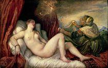 Danae, c.1554 by Titian