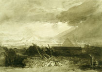 The Fifth Plague of Egypt, 1806-10 by Joseph Mallord William Turner