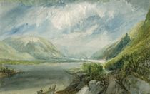 Junction of the Lahn, 1817 by Joseph Mallord William Turner