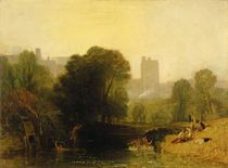 Near the Thames Lock, Windsor by Joseph Mallord William Turner
