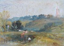 Landscape near Petworth, c.1828 by Joseph Mallord William Turner