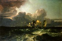 Ships Bearing up for Anchorage by Joseph Mallord William Turner