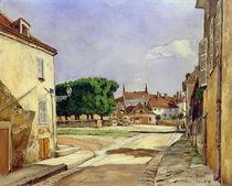 A Street in Avallon von Marcel Leprin