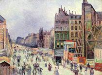 Drilling in the rue Reaumur von Maximilien Luce