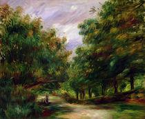 The road near Cagnes, 1905 von Pierre-Auguste Renoir