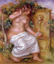 The Bather at the Fountain von Pierre-Auguste Renoir