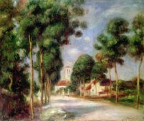 The Road to Essoyes, 1901 by Pierre-Auguste Renoir