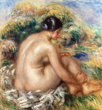Bather, 1915 by Pierre-Auguste Renoir