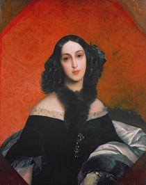 Portrait of M.A. Bek, 1840 by Karl Pavlovich Bryullov