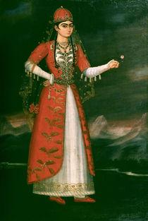 Portrait of Nino Eristavi, Iranian, 1829 by Iranian School