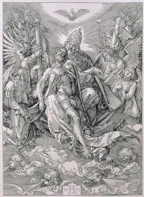 The Holy Trinity, pub. 1511 von Albrecht Dürer