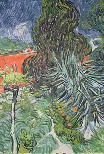 The Garden of Doctor Gachet at Auvers-sur-Oise von Vincent Van Gogh