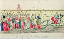 Advanced guard of the women going to Versailles on 5th October 1789 by French School