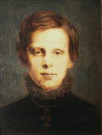Crown Prince Rudolf, 1873 by Franz Seraph von Lenbach