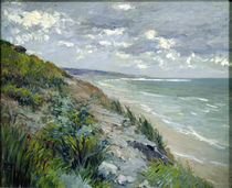 Cliffs by the sea at Trouville