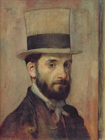 Portrait of Leon Bonnat c.1863 von Edgar Degas