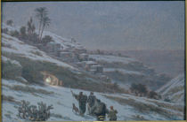Christmas Night at Bethlehem von Ludovic Alleaume