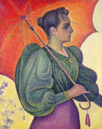 Woman with a Parasol, 1893 by Paul Signac