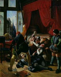 The Assassination of Brion by Joseph-Nicolas Robert-Fleury