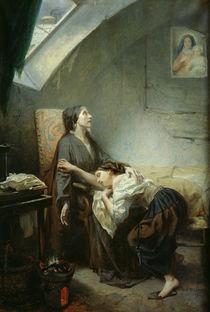 The Poverty-Stricken Family by Octave Tassaert