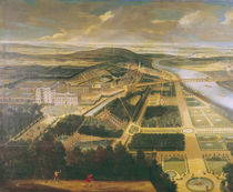 View of the Chateau and Gardens of St. Cloud by Etienne Allegrain