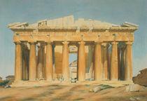 The Parthenon, Athens, 1810-37 von Louis Dupre