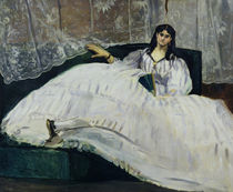 Portrait of Jeanne Duval, 1862 by Edouard Manet