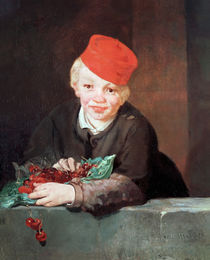 The Boy with the Cherries, 1859 von Edouard Manet