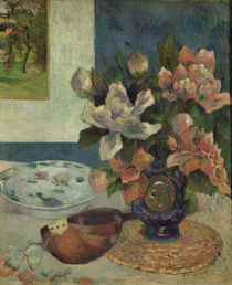 Still Life with a Mandolin by Paul Gauguin