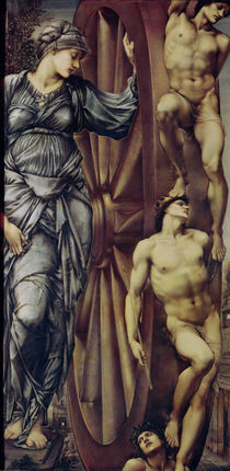 The Wheel of Fortune, 1875-83 by Edward Coley Burne-Jones
