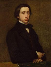 Self portrait, 1855 by Edgar Degas