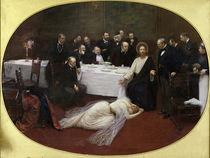 Mary Magdalene in the house of the Pharisee by Jean Beraud