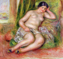 Sleeping Odalisque, or Odalisque in Turkish Slippers by Pierre-Auguste Renoir