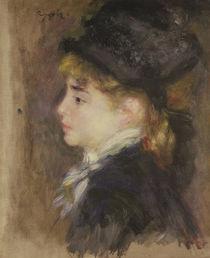 Portrait of a woman, possibly Margot von Pierre-Auguste Renoir