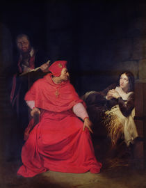 Joan of Arc and the Cardinal of Winchester in 1431 von Hippolyte Delaroche