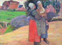 Breton Peasants, 1894 by Paul Gauguin