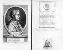 Portraits of Horace Scipio Aemilianus and Plautus by French School