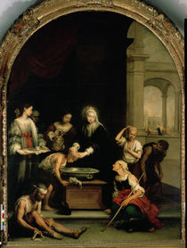 St. Elizabeth of Hungary tending the sick and leprous by Bartolome Esteban Murillo