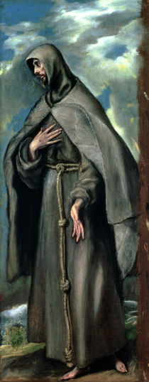 St.Francis of Assisi by El Greco