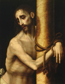 Christ bound to the Column by Luis de Morales